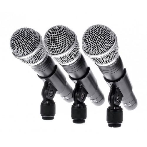 Набор из 3 микрофонов the t.bone MB 60 Set