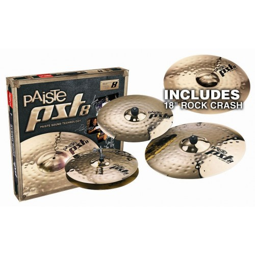 Paiste PST8 Reflector Rock Set набор тарелок