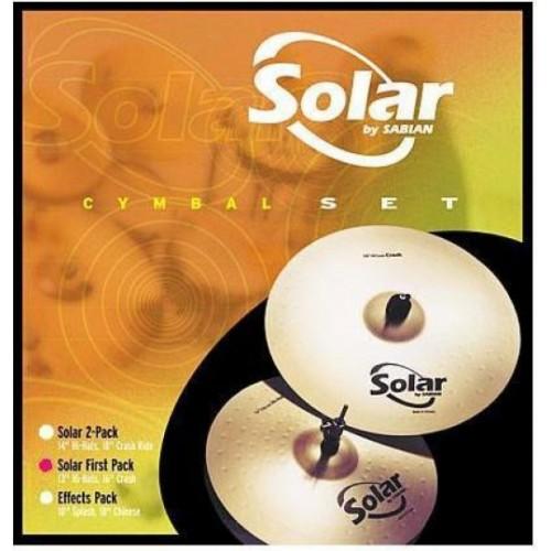 Sabian SOLAR First pack(13/16) набор тарелок