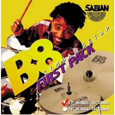 Sabian B8 First Pack (13/16)