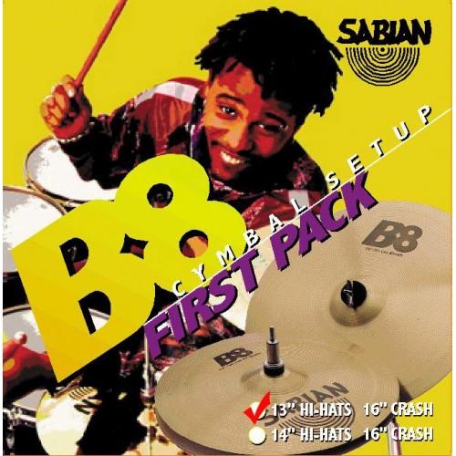 Sabian B8 First Pack (13/16) набор тарелок