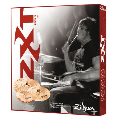 Zildjian ZXT Rock Cymbal Set up 4 Pack набор тарелок