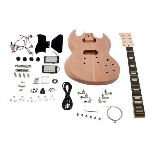 Набор сделай сам гитару Gibson SG (гитарный конструктор DIY)