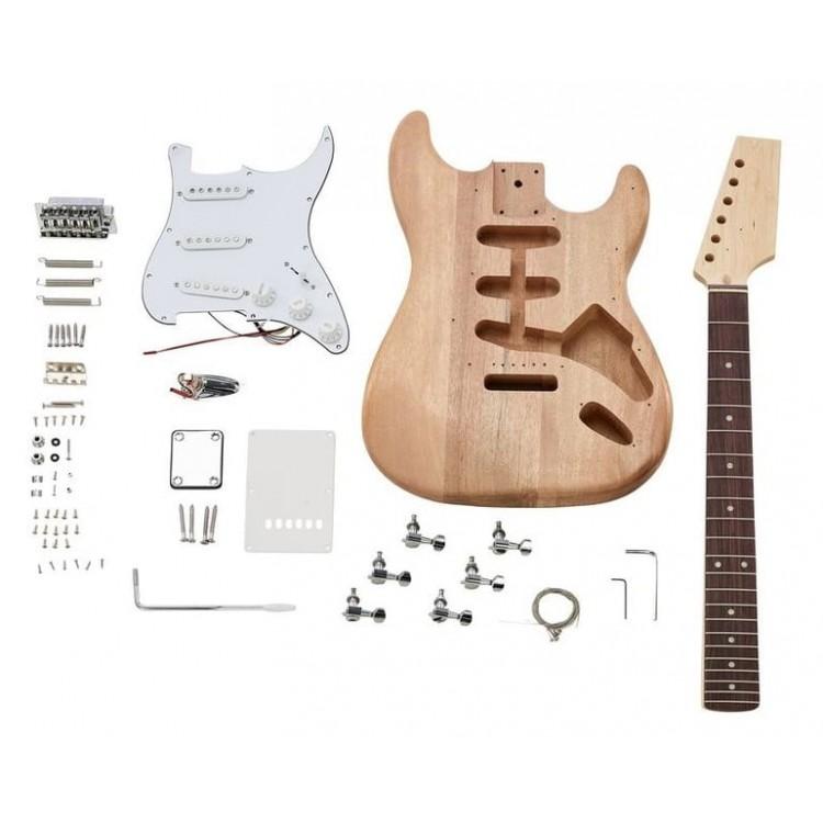Набор сделай сам гитару Fender Stratocaster (гитарный конструктор DIY)